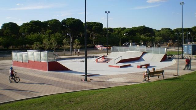 Skatepark de Pinar de Antequera, Valladolid