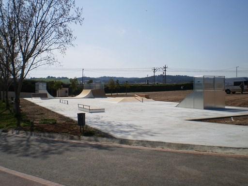 Skatepark en el Parc Central del Vallès