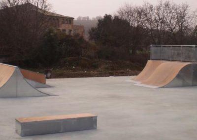 Skatepark Parque Fluvial de Ponts