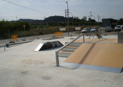 Ampliació de l'skatepark de Sant Vicenç de Castellet