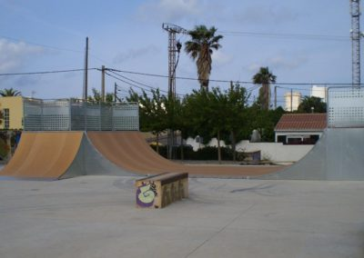 Skatepark a Cala en Porter