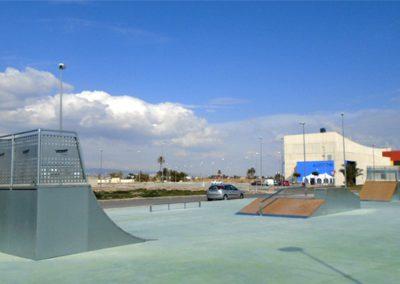 Skatepark a Cox, Alacant