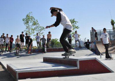 Skatepark en Sant Fost de Campcentelles, Barcelona