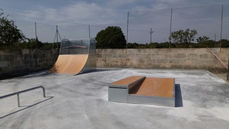 Skatepark en Llubí, Mallorca