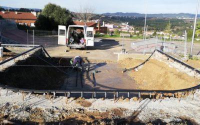 EN CONSTRUCCIÓ: AMPLIACIÓ DE L'SKATEPARK DE MASQUEFA