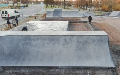 EN CONSTRUCIÓ: SKATEPARK DE PALAU-SOLITÀ I PLEGAMANS