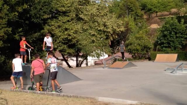Skatepark en Béjar, Salamanca
