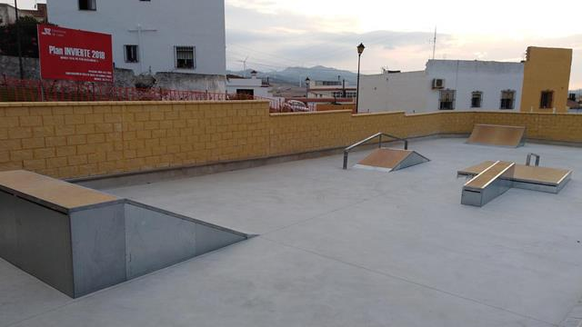Skatepark en Facinas, Cádiz
