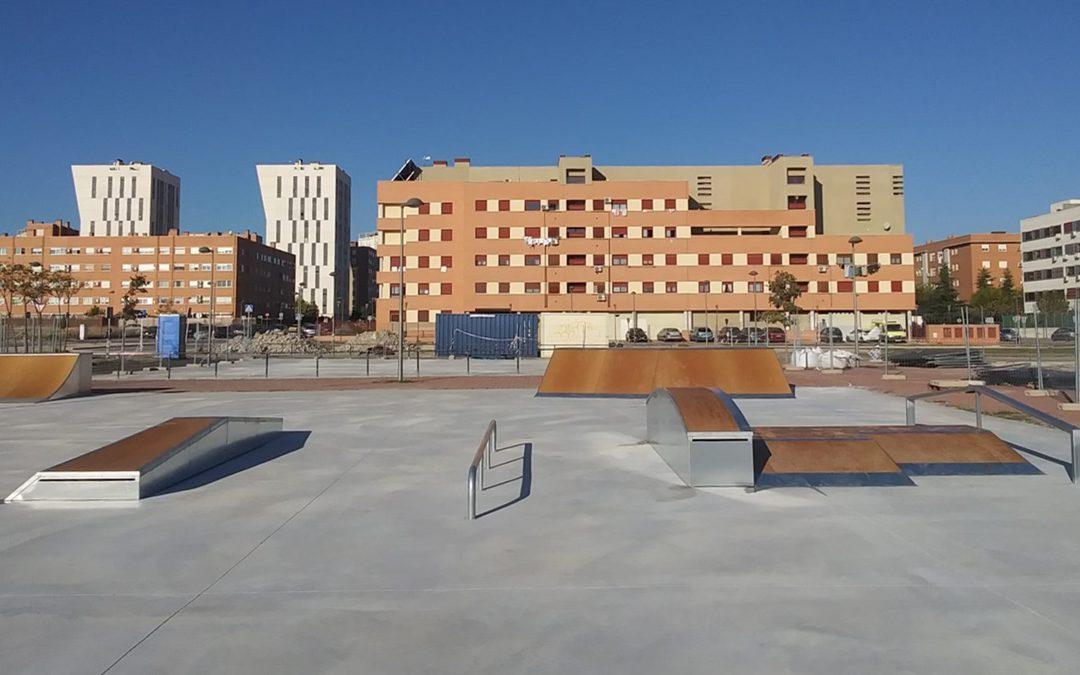 NUEVO SKATEPARK MODULAR EN PARLA, MADRID