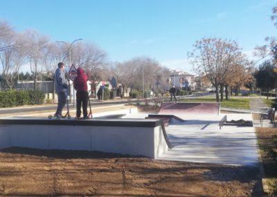 Skatepark en La Granada, Barcelona