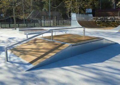 Skatepark en Son Servera, Mallorca