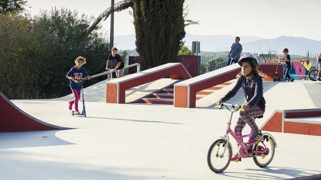 Skatepark en Parets del Vallès, Barcelona