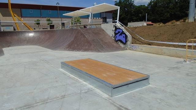 Skatepark en Riells i Viabrea, Girona