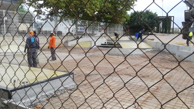 EN CONSTRUCCIÓN: SKATEPARK EN SANT CUGAT SESGARRIGUES, BARCELONA